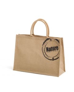 Jute shopper 'nature' opdruk